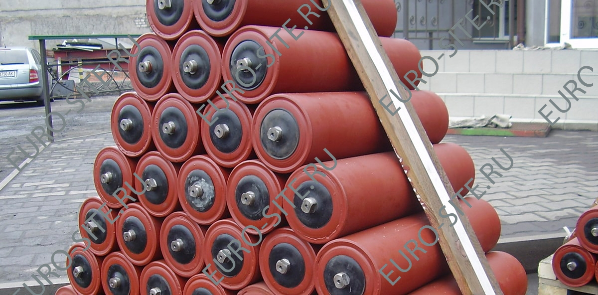 Features of the conveyor belt rollers